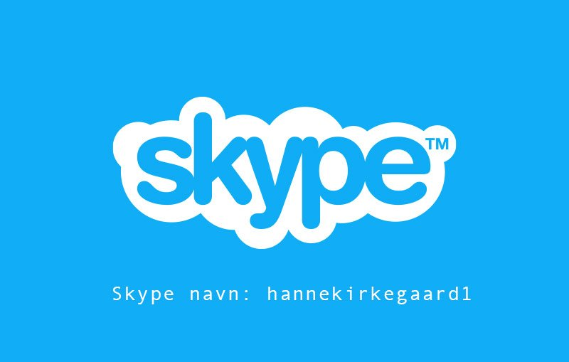 Terapi via Skype, webcam eller FaceTime