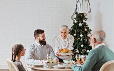 Jul og familien