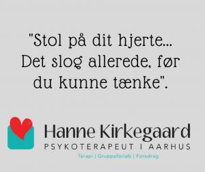 Stol på dit hjerte - Terapi v. Hanne Kirkegaard