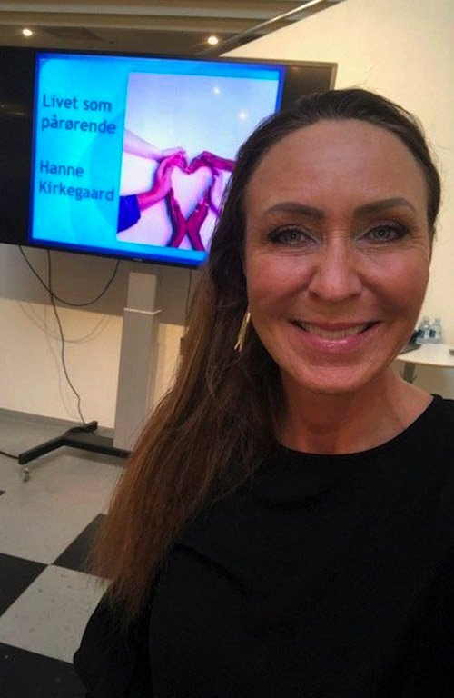 Hanne Kirkegaard - Foredrag - Livet som pårørende